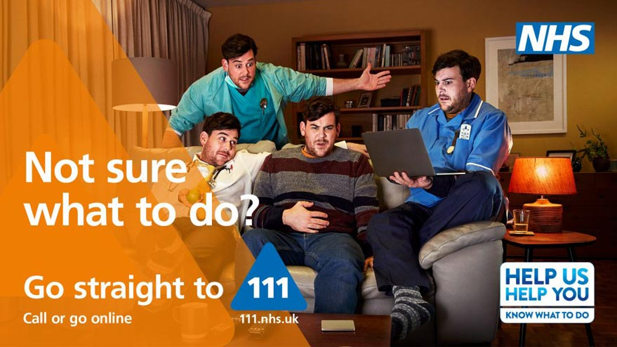 Unsure where to go? Contact NHS111