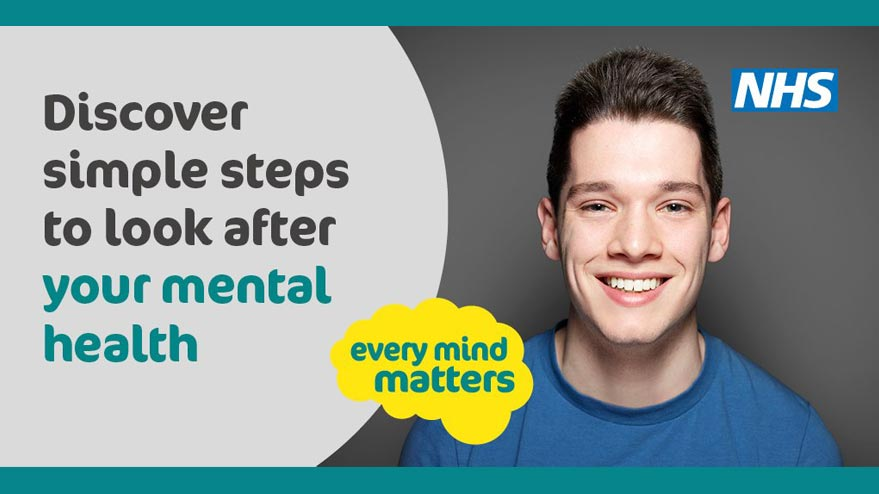 NHS Every Mind Matters - look after your mental Health