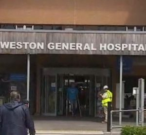 Weston General Hospital is temporarily stopping accepting new patients, including into its A&E department