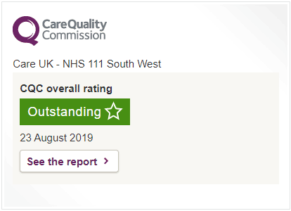 BrisDoc Head Office CQC Inspections rated as good. Click to find out more